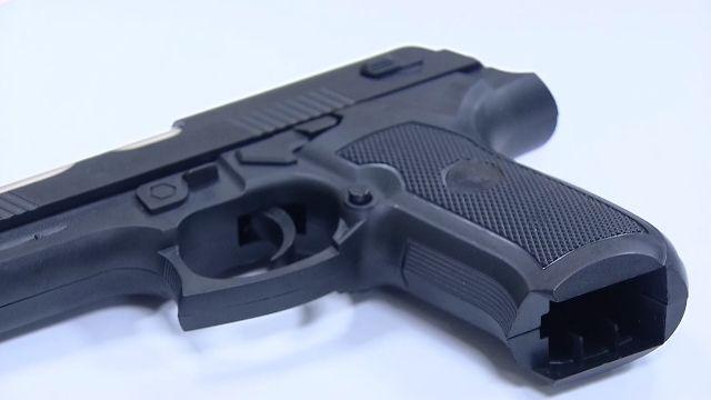 行車糾紛 男子伸出手槍恐嚇國中生