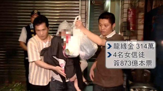 騙畫咒消災詐財性侵女信徒 「龍王」判27年