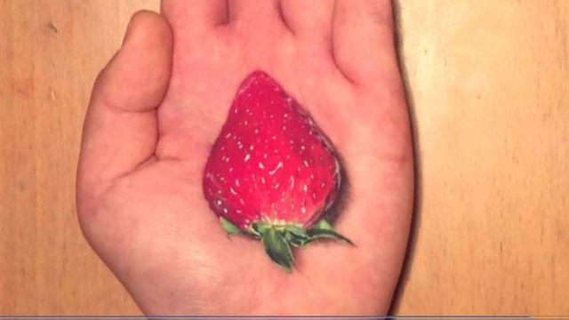 「手捧草莓」照片引話題 不能吃有原因