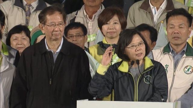 蔡英文嘉義台南飛車跑  支持者大喊凍蒜