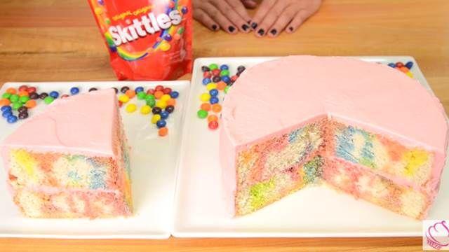 彩虹糖變蛋糕...少女心大噴發!