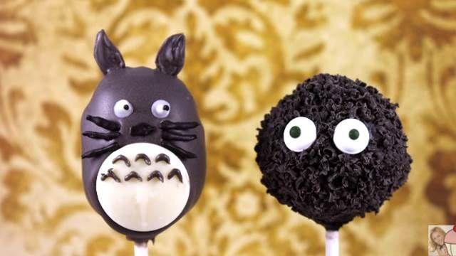 萌到炸!龍貓棒棒糖蛋糕