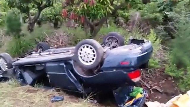 81歲老翁開車追撞 80歲老婦慘死輪下
