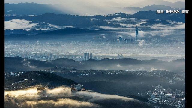 泰國攝影師遊台紀錄美景 台北101成仙境