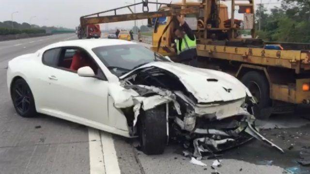 馬莎拉蒂國道飆車 造成3名受傷