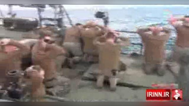 闖伊朗領海遭扣押 10美軍跪地道歉