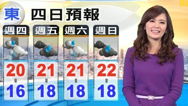 【2016/01/14】冷氣團影響!今晚到明晨北部低溫13度