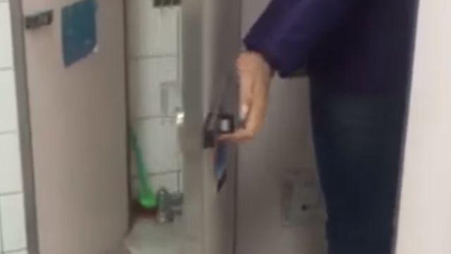 世新驚爆「攝」狼 法律系生偷拍女同學如廁