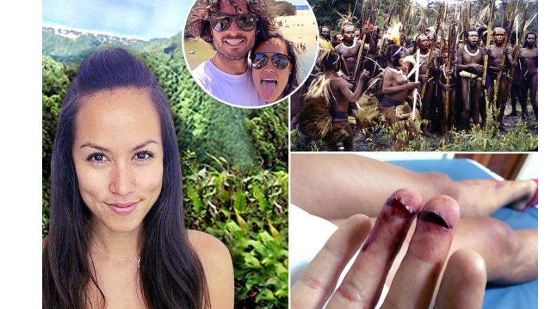 遊巴布亞紐幾內亞「吃」驚 食人族擄走英情侶