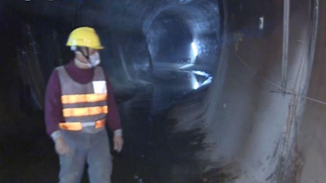 全台最大水管! 直潭淨水廠取水隧道曝光