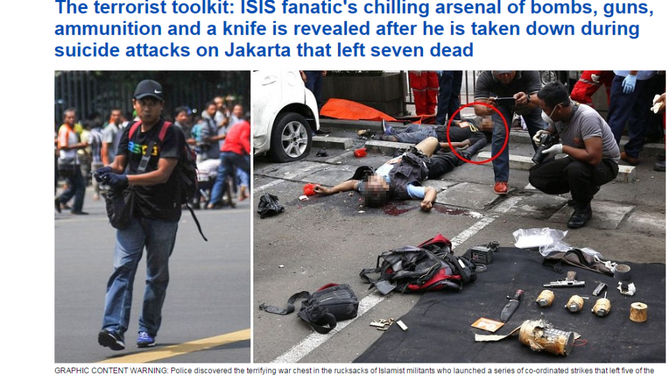 雅加達爆炸!曾獲IS威脅 印尼成恐攻溫床