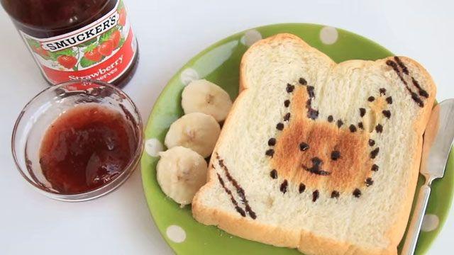 只要幾分鐘!白吐司變身超人氣早餐!