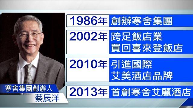 寒舍創辦人蔡辰洋 「心肌梗塞」辭世享壽66歲