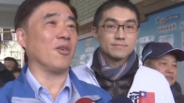 基隆、花蓮立委候選人 一早紛紛前往投票