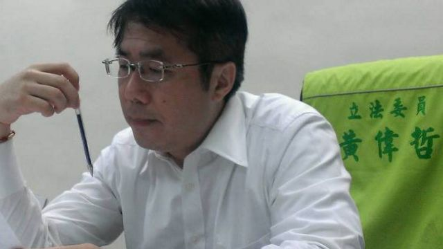 台南第二選舉黃偉哲 自行宣布當選