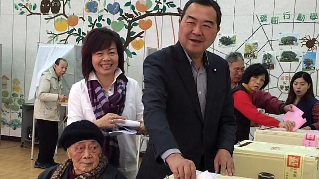 苗栗第二選區 徐志榮自行宣布當選