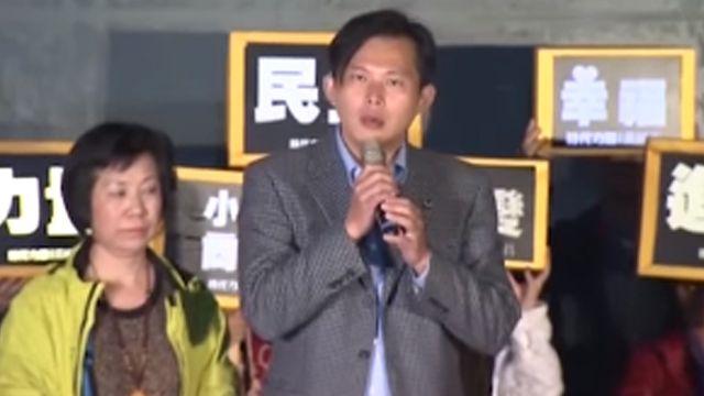 「戰神」勝出!黃國昌宣布當選挺進國會