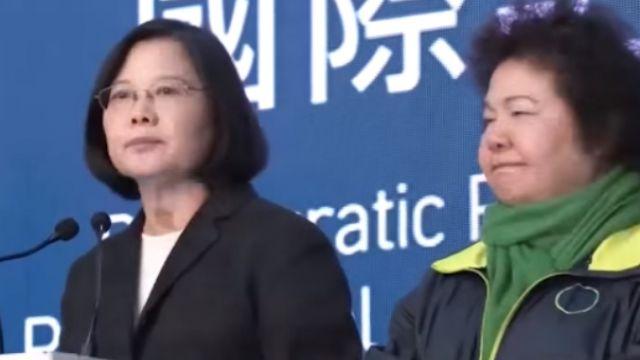 蔡英文壓倒性勝選 日媒:對國民黨「親中」的審判