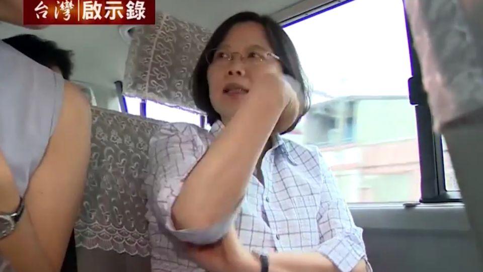 中華民國首位女總統!是誰改變蔡英文?