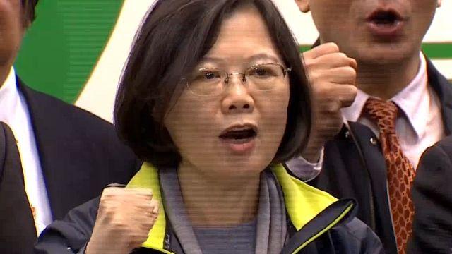 台首位女總統 德媒喻蔡「亞洲梅克爾」