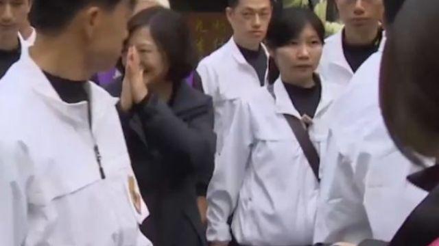 台灣首位女總統! 將有「第一女侍衛長」?