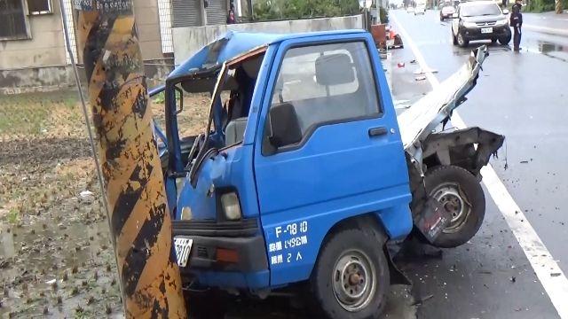 雨中酒駕追撞 彰化二林車禍1死3傷