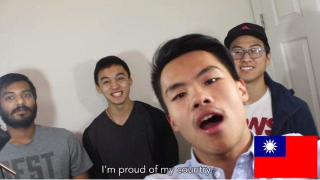 """""""對不起 因我是台灣人"""" 留學生拍片挺子瑜"""