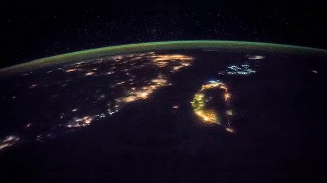 哇!太空看台灣 愈夜愈美麗