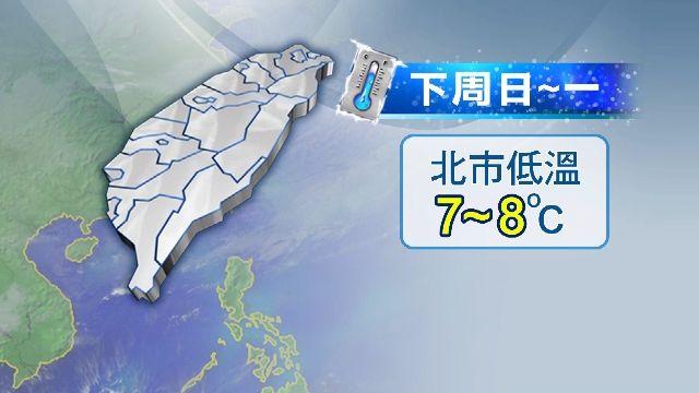 台北只有三四度? 氣象局:國外預測應會修正