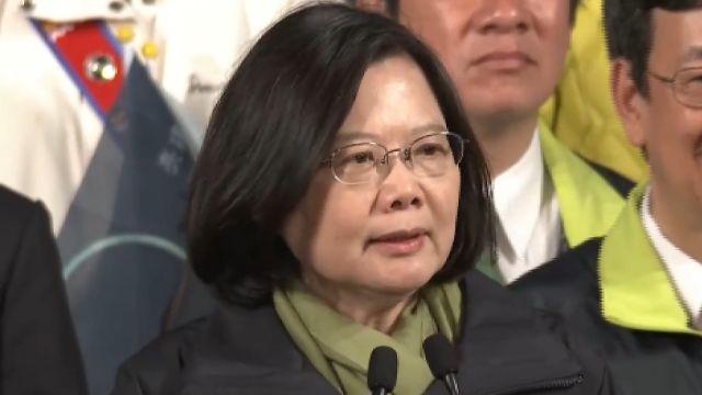 台灣首位女總統 國際媒體不同評語