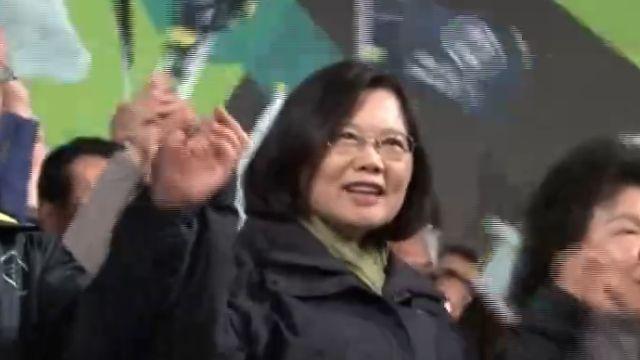 亞洲第四位女元首 小英從政路踏實