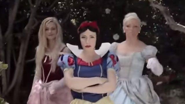 迪士尼公主饒舌大PK!白雪公主被打趴?