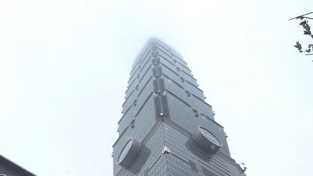 「白白一塊一塊」台北101下雪了? 氣象局:不可能