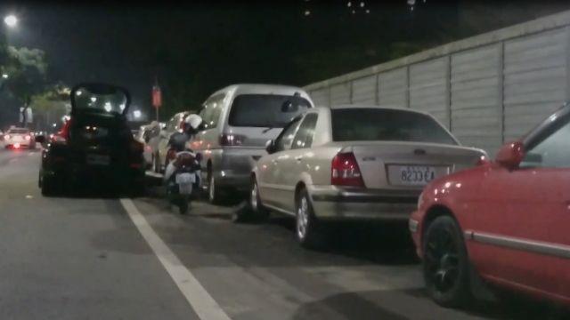 酒駕瘋狂撞...車子被撞如跳「波浪舞」