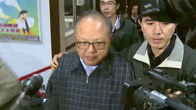 林錫山收賄700萬  法院裁定收押禁見!