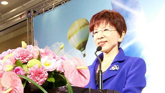 洪秀柱 鍾小平宣布 參選國民黨黨主席