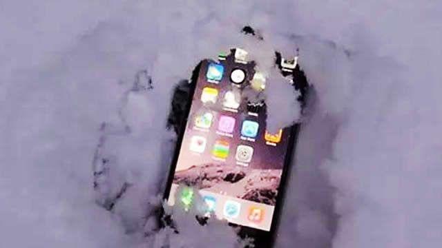iphone新極限!-26度 存活10分鐘