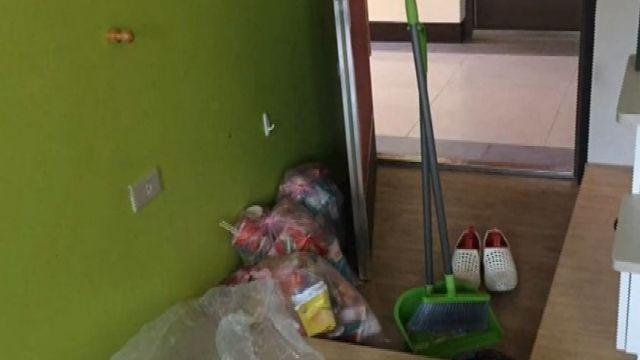 18歲女房客垃圾堆屋!「銀樓搶案同夥」房東嚇
