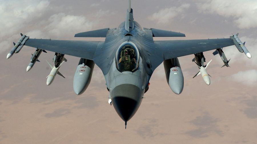 我F-16空官美國墜機 美軍:高鼎程少校恐罹難