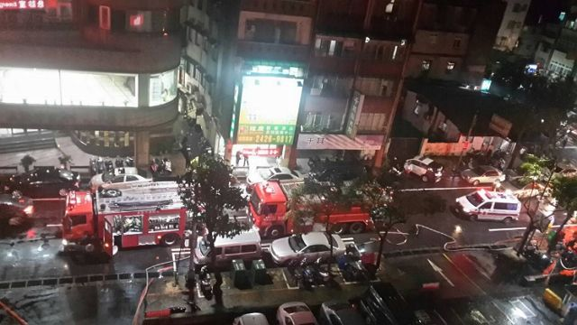 街友喝醉縱火燒急診室 幸無人傷