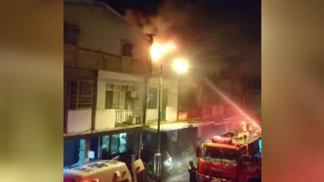 寒夜大火延燒6住宅 疑未關火釀3死悲劇