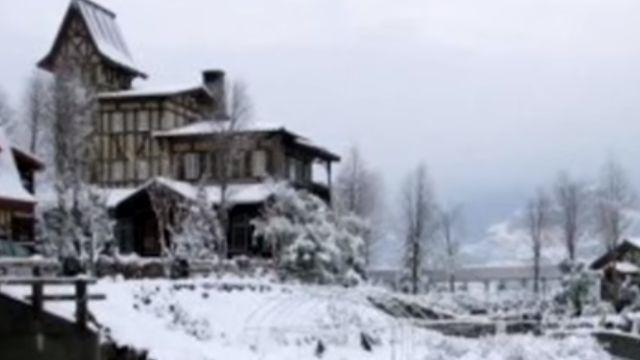相隔11年清境下雪 當年「雪照」成攬客利器