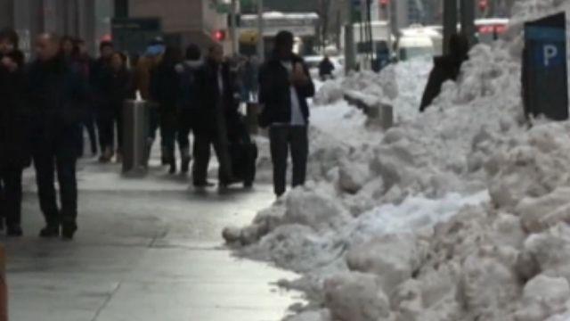 紐約暴風雪封城 觀光生意一落千丈