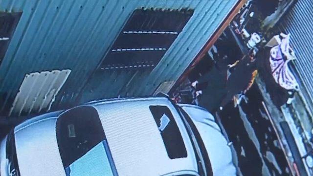 空地借鄰當路10幾年 收回蓋車庫反遭人刮車
