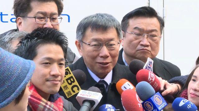日網友訂購同款車衣 柯:日官員驚訝一日雙城