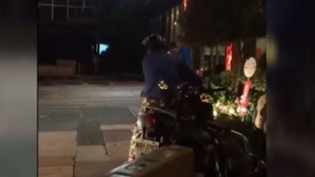 男子酒醉還想騎車 霸氣兒飆罵阻止
