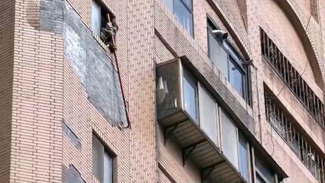 天降橫禍! 北市大樓「磁磚雨」砸傷路人