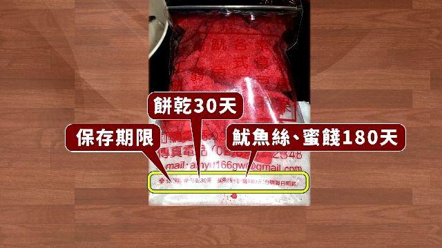 驚! 紅肉乾保存日期180天 從「購買日」算起?