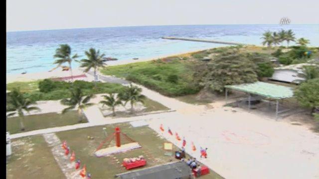馬總統赴太平島視察 美國務院表達失望