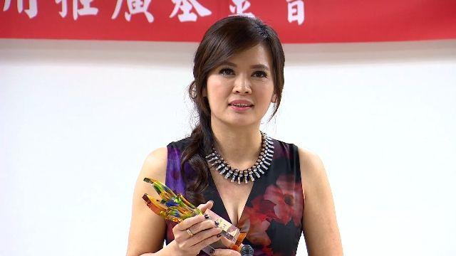王淑麗獲選年度最佳氣象主播獎 致詞感性落淚
